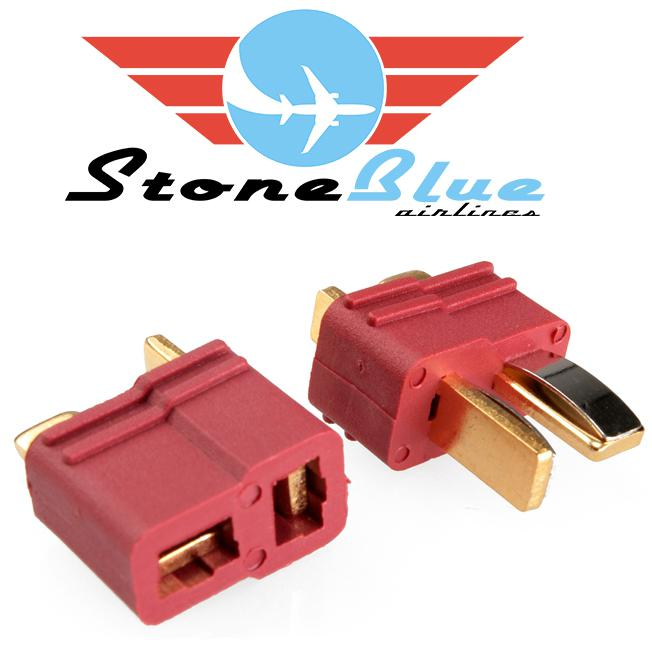 Deans Connector (T Connector) Male & Female Pair