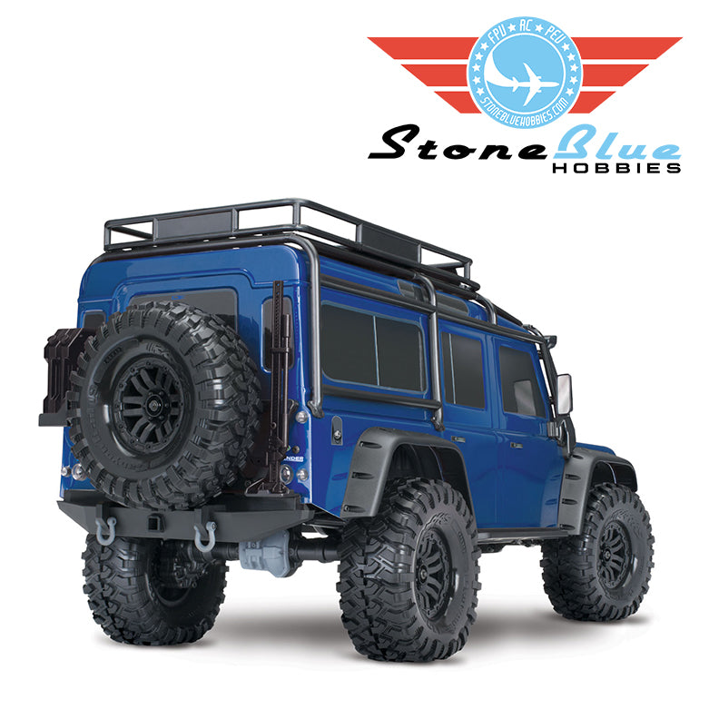 Traxxas 1/10 TRX-4 Defender Scale and Trail Crawler