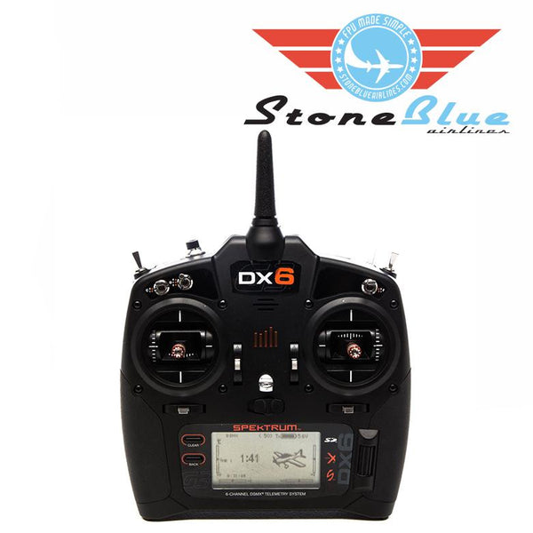 Spektrum DX6 6-Channel DSMX Transmitter Only, Gen 3 *Pre-Order*
