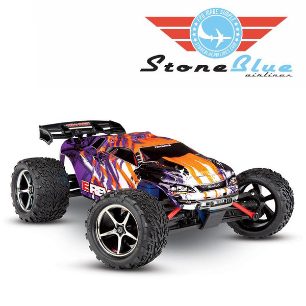 Traxxas E-Revo VXL 1-16 4WD Brushless Monster Truck RTR Purple