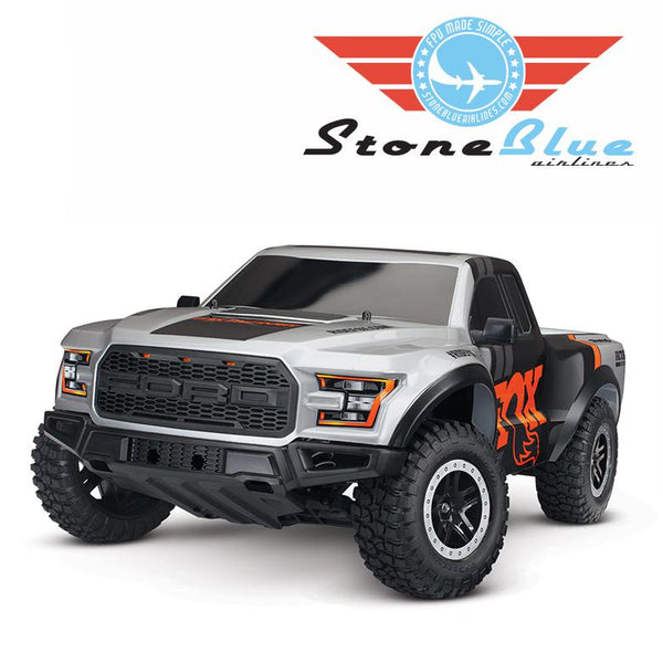 Traxxas Ford Raptor Fox 1-10 2WD Replica Truck RTR