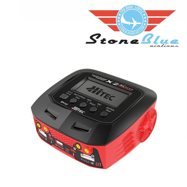 HiTEC X2 AC Plus Black Edition Multi-Function AC-DC Charger