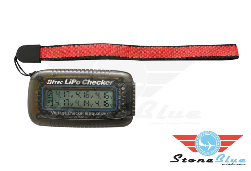 HiTec LiPo Voltage Checker and Balancer