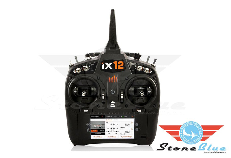 Spektrum iX12 12-Channel DSMX Transmitter Only, Black