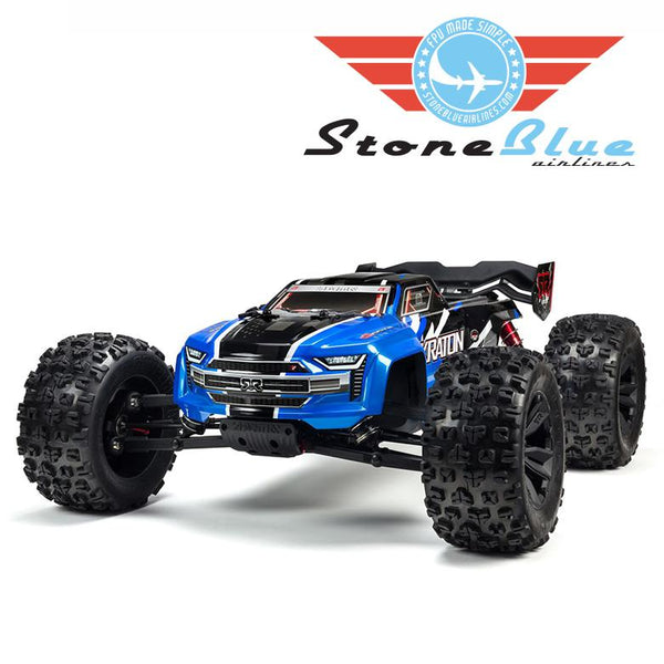 Arrma 1/8 KRATON 6S BLX 4WD Brushless Speed Monster Truck Blue *Backorder*