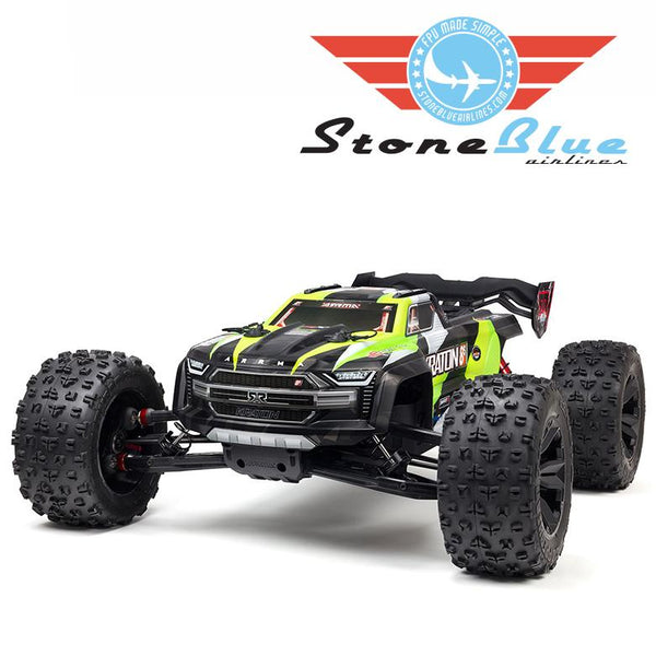 Arrma 1/5 KRATON 4X4 8S BLX Brushless Speed Monster Truck, Green *Backorder*