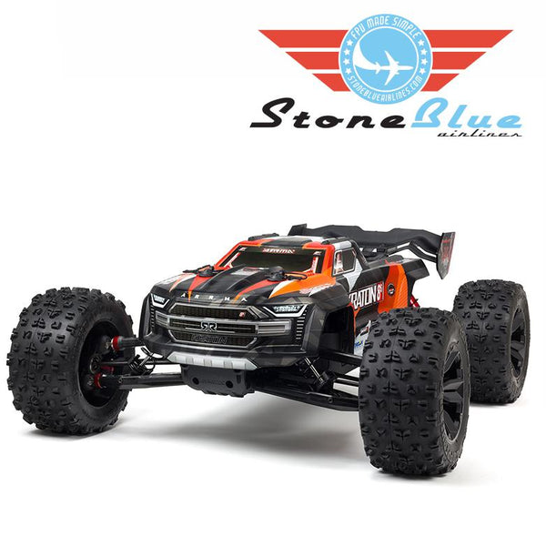 Arrma 1/5 KRATON 4X4 8S BLX Brushless Speed Monster Truck, Orange *Backorder*
