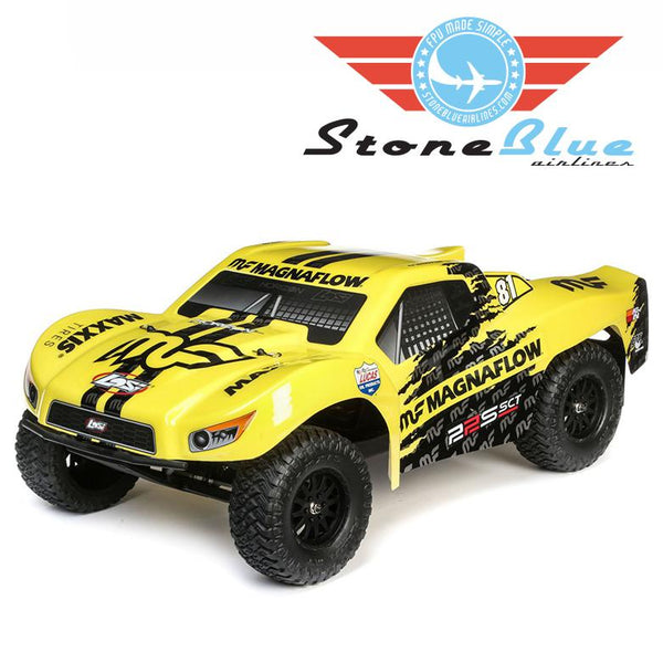 Losi 1/10 22S 2WD SCT RTR, MagnaFlow