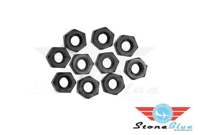 M3 Plastic Nuts (4-pack)
