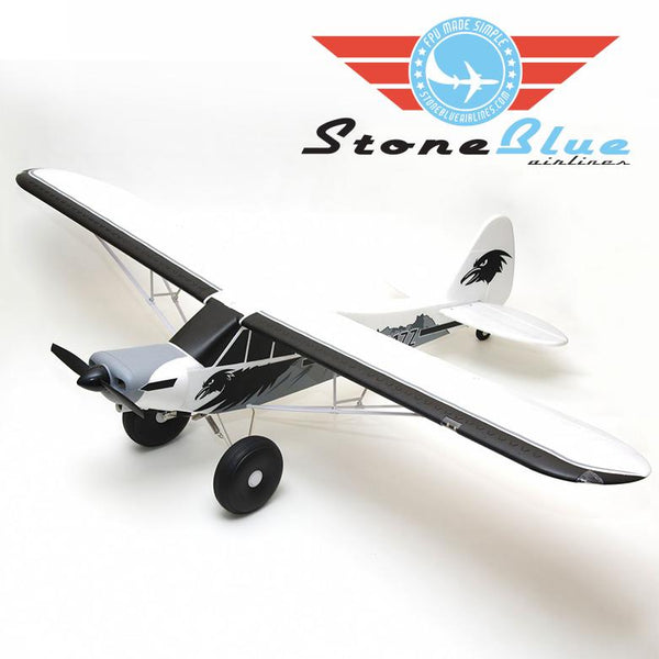 FMS PA-18 Super Cub 1700mm EP PNP with Floats