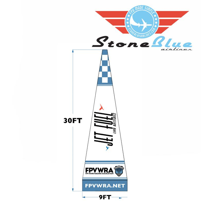 SBA Custom Inflatable Pylon