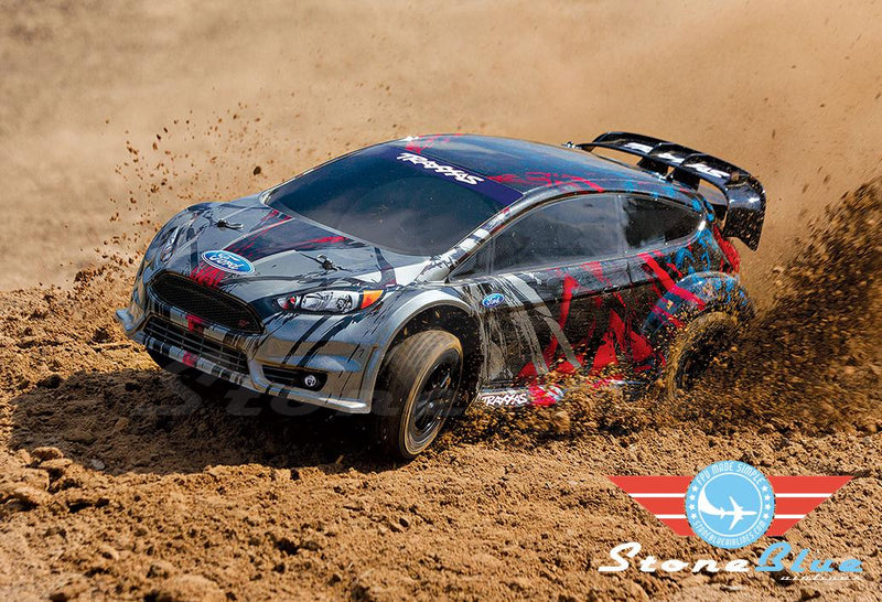 Traxxas Ford Fiesta ST Rally 1-10 Scale AWD Rally Car