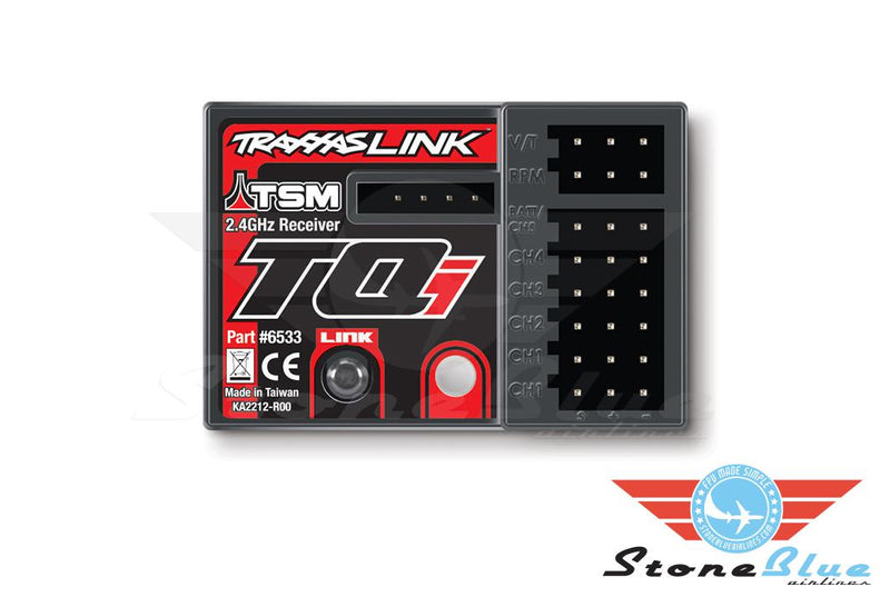 Traxxas TQi Receiver 5CH Telemetry 2.4GHz with TSM 6533
