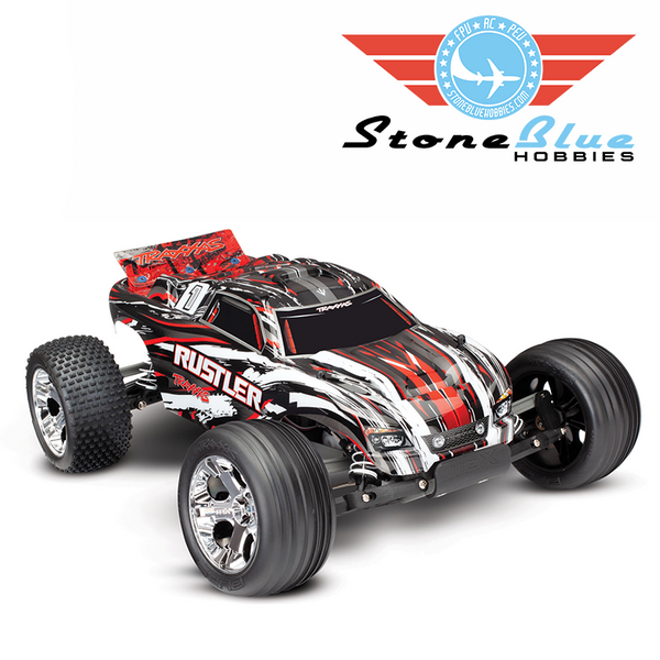 Traxxas Rustler 1/10 2WD Brushed Stadium Truck RTR