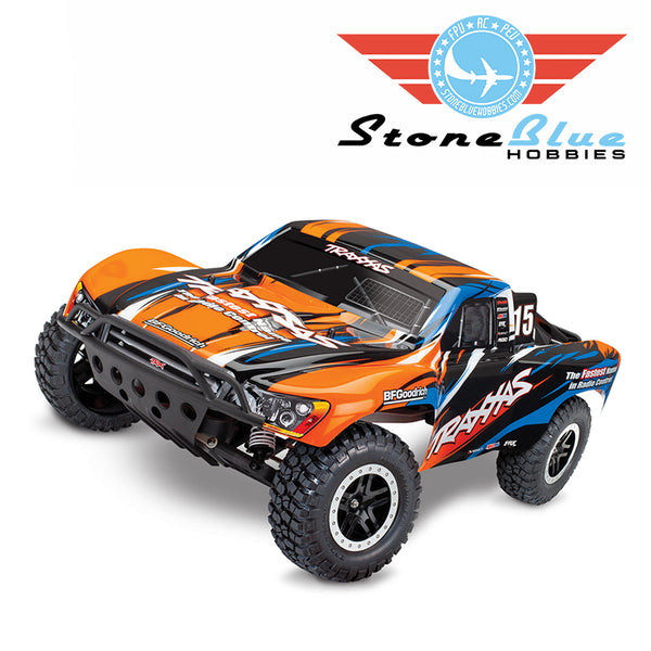 Traxxas Slash 2WD 1-10 Electric Brushed Short Course Truck RTR