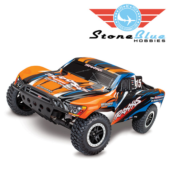 Traxxas Slash VXL 1/10 2WD Brushless Short Course Truck with TSM