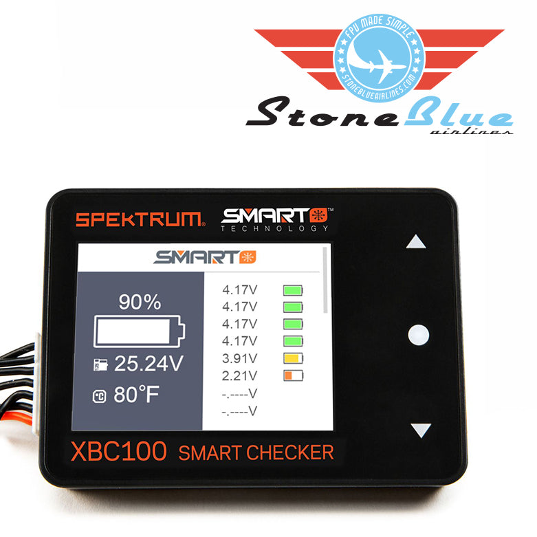 Spektrum XBC100 Smart Battery Checker & Servo Driver