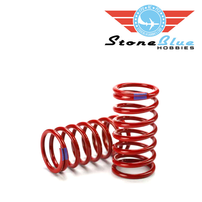 Traxxas E-Revo Shock Spring Red (1 pair)