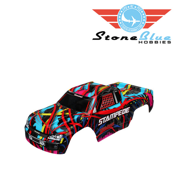 Traxxas Body, Stampede®, Hawaiian graphics (painted, decals applied) 3649