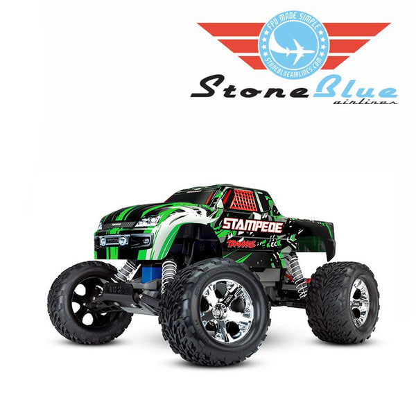 Traxxas Stampede 2WD 1-10 Monster Truck RTR Green