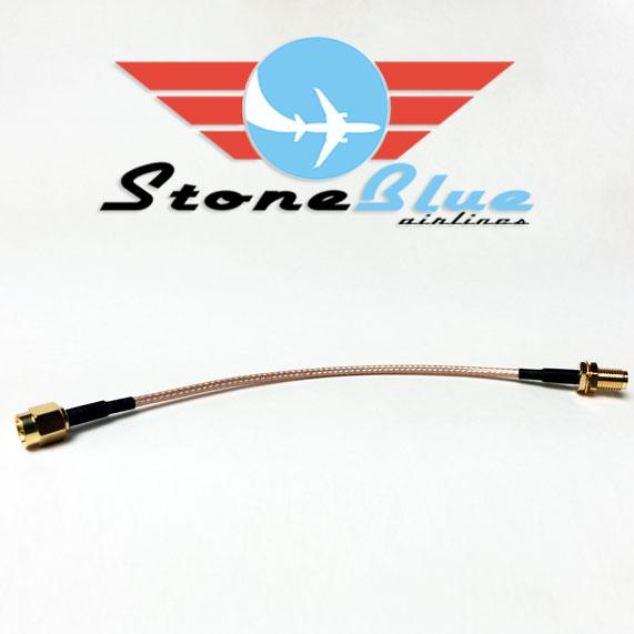 "6"" SMA Male to SMA Female Extension Cable (1pc)"