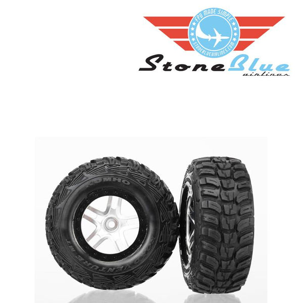 Traxxas Tires and Wheels, Ultra Soft Off-road Racing, Glued 6874R