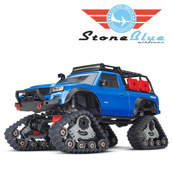 Traxxas TRX-4 1-10 Crawler equipped with Traxx