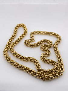 Rolled Gold Fancy Chain