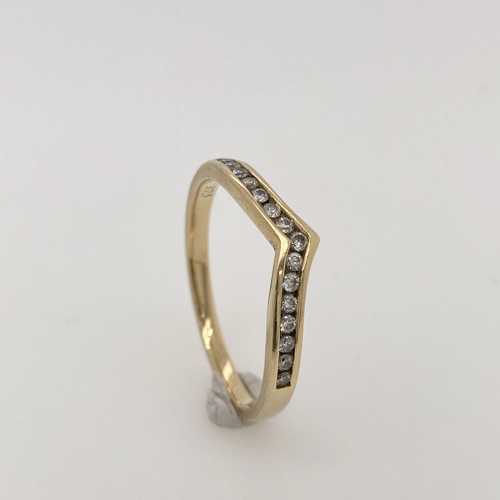 Shaped Eternity Ring