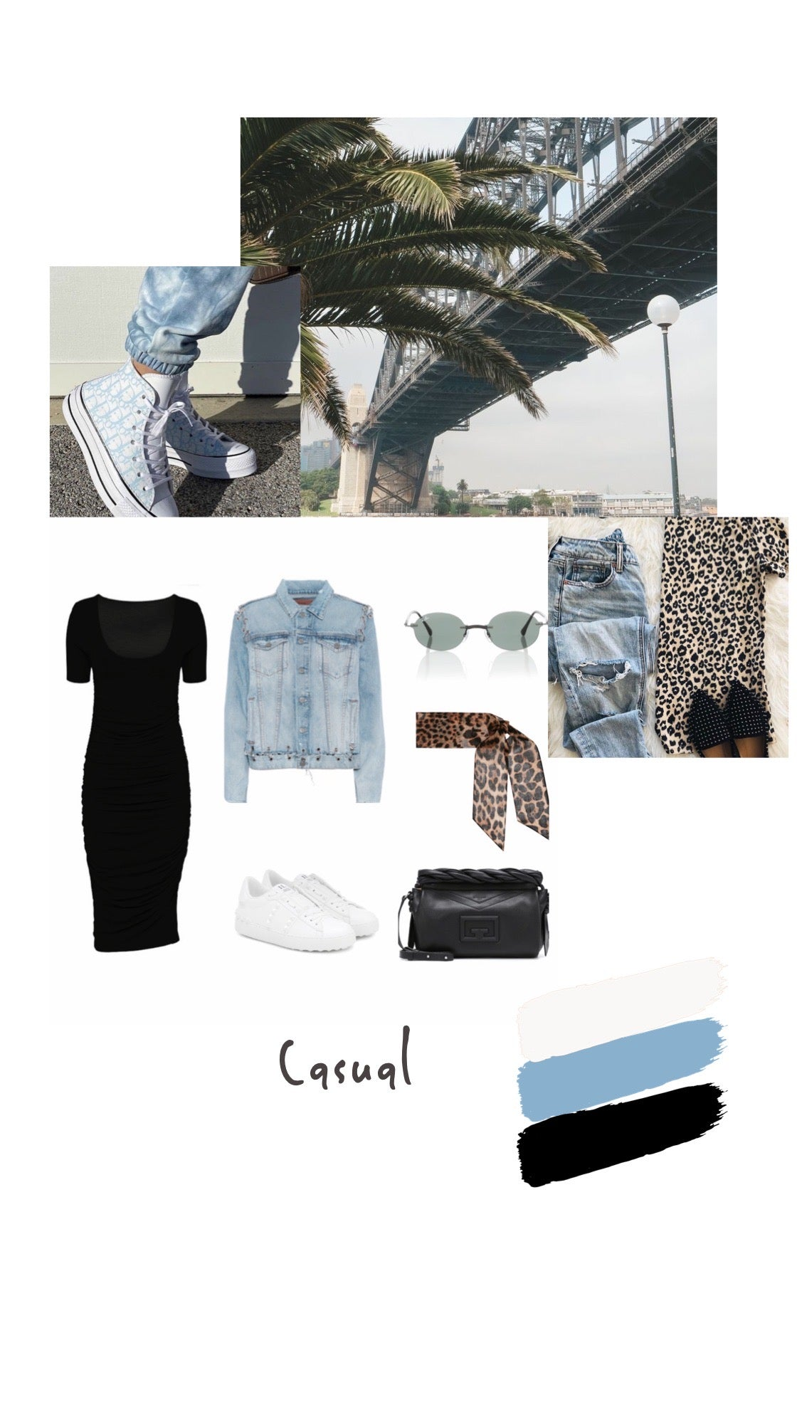 Embodycon style board casual