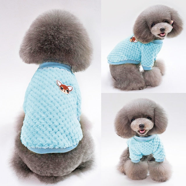 Small Dog Stretch Fleece Coat