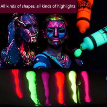 Load image into Gallery viewer, 6 Colors Neon Body Paint - WorstNights - WorstNights
