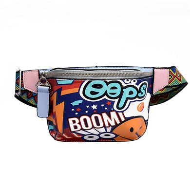 Graffiti Fanny Pack Waist Bag For Women - WorstNights