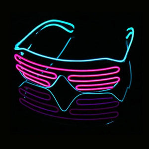 LED Shutter Rave Glasses - WorstNights