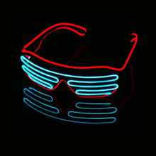 Load image into Gallery viewer, LED Shutter Rave Glasses - WorstNights