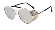 Load image into Gallery viewer, Vintage Steampunk Round Sunglasses - WorstNights