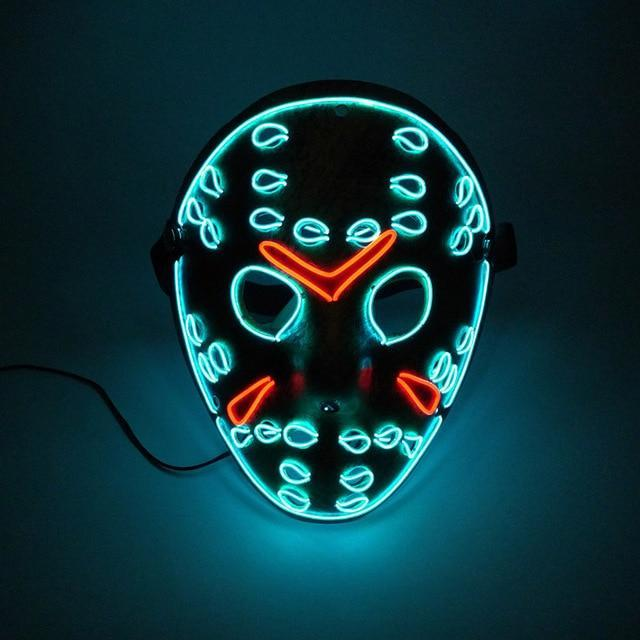 LED Jason Mask - WorstNights