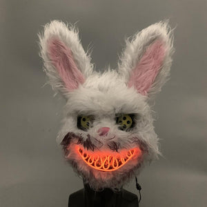 Led Killer Rabit Mask - WorstNights