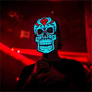 Led Rave Skull Mask - WorstNights