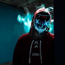 Load image into Gallery viewer, The Purge Rave Mask LED - WorstNights
