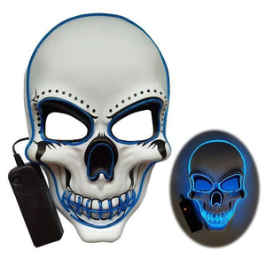 Led Skull Mask - WorstNights