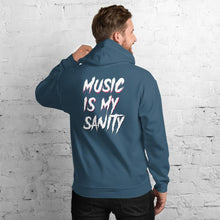 Load image into Gallery viewer, Music Is My Sanity Hoodie - WorstNights Brand™ - WorstNights