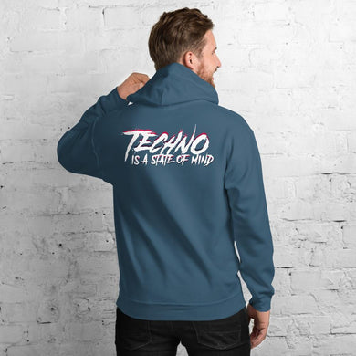 Techno Is A State Of Mind Hoodie - WorstNights Brand™ - WorstNights