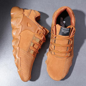 Mens UBFEN Sneakers - WorstNights™ Tan/Black/Grey - WorstNights