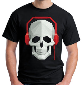 Skull & Headphones T-Shirt - WorstNights
