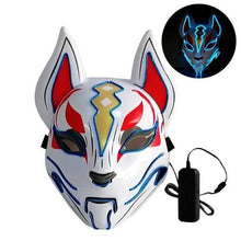 Load image into Gallery viewer, LED Fox Rave Mask - WorstNights