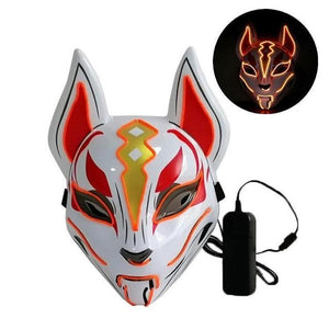 LED Fox Rave Mask - WorstNights