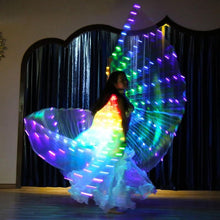 Load image into Gallery viewer, LED Rainbow Performance Wings - WorstNights