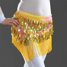 Load image into Gallery viewer, Sequins Tassel Mini Skirt - WorstNights