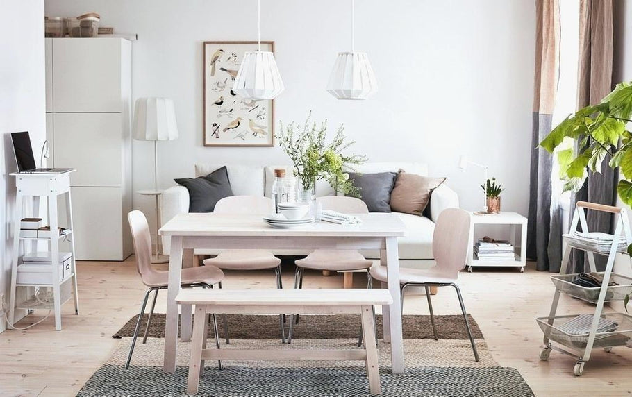 Small Spaces Ikea Small Dining Table